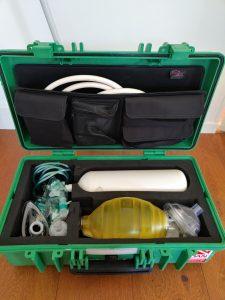 zuurstof koffer