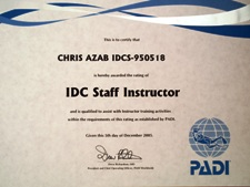 IDC Staff Instructeur