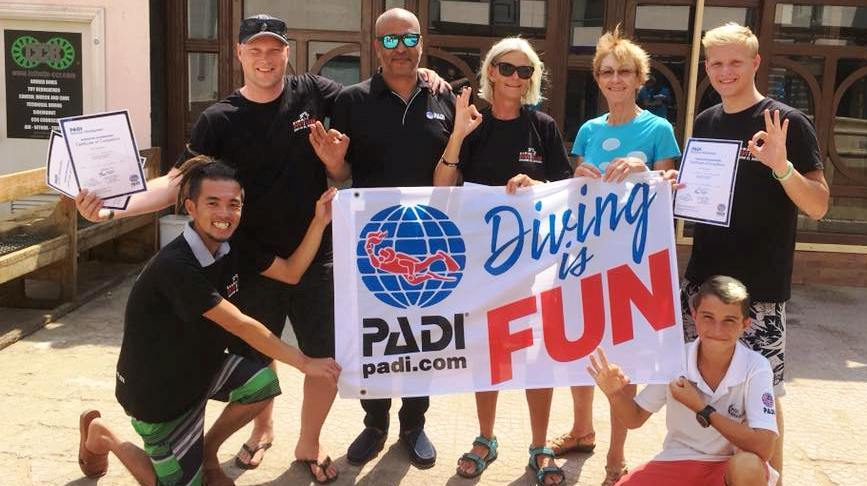 PADI Duik Instructeur