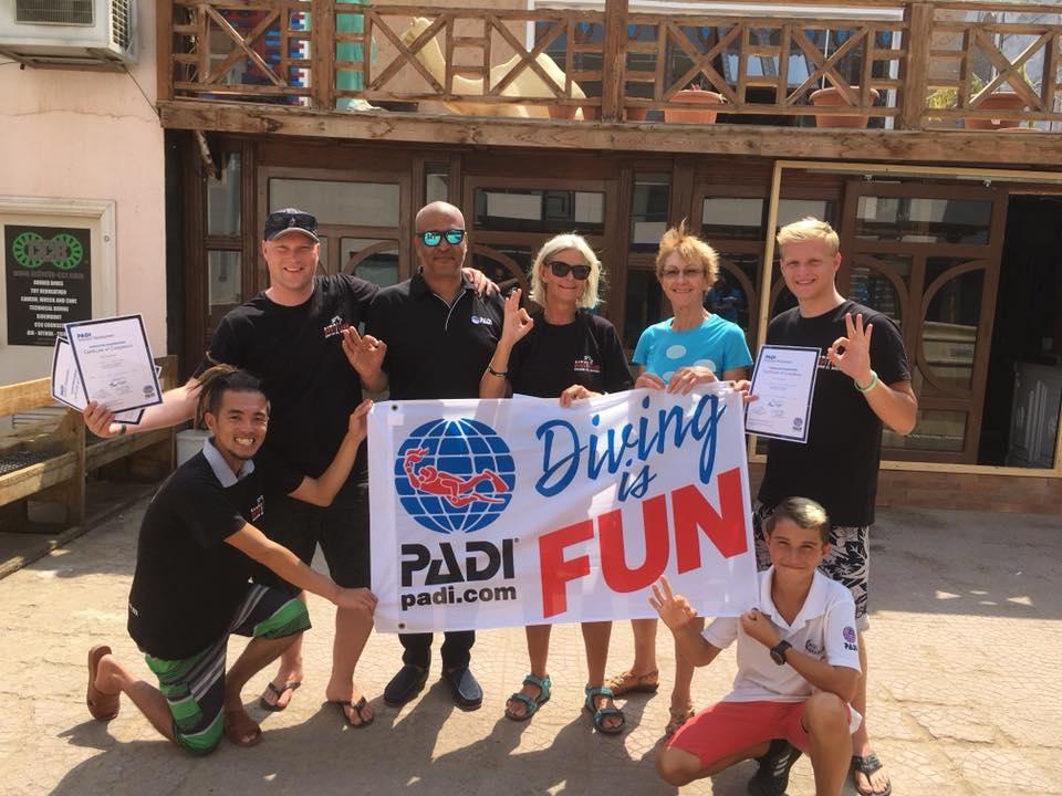 PADI Dive Instructor in Nederland or Egypte