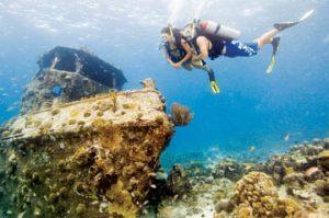 wrak duiken