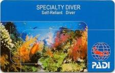 self reliant diver certificate